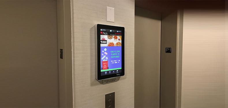 Condo digital screen